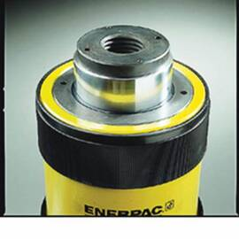 Enerpac® Threaded Hollow Saddle, Heat Treated, Series: RCH, For Use With: RCH-302, 306 Single Acting Hollow Plunger Cylinders, 0.38 in Dia x 53 mm L