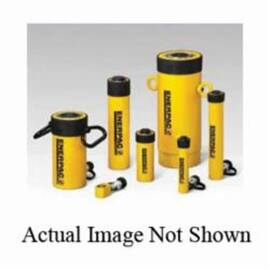 Enerpac® RC-256 General Purpose Industry Standard Single Acting Hydraulic Cylinder, 25 ton Capacity, 6-1/4 in L Stroke, 10000 Psi