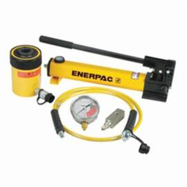 Enerpac® Sch-302H Sc Series Hollow Plunger Single Acting Cylinder Pump Set, 5 Pieces, 30 Ton, 10000 Psi, 0 To 22200 Lb Ga Scale