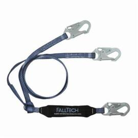FallTech® 82608 Viewpack™ Shock Absorbing Lanyard 310 Lb 6 Ft 2-Leg