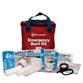 FIRST AID ONLY® 3030 FIRST AID BURN CARE KIT, 7 COMPONENTS, FABRIC CASE