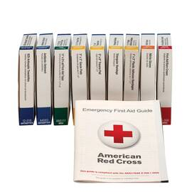 FIRST AID ONLY® 740010 FIRST AID KIT REFILL, 65 COMPONENTS, CARDBOARD CASE