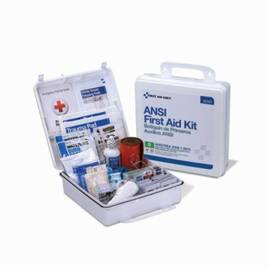 First Aid Only® 90566 Type III First Aid Kit, Wall Mount, Plastic Case, 50 People Served