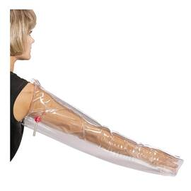 FIRST AID ONLY® M5085 INFLATABLE AIR SPLINT, 32 IN L X 1/4 IN W, PLASTIC, TRANSPARENT