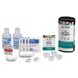 AMERICAN RED CROSS RC-684 16-PIECE EYE CARE EMERGENCY RESPONDER PACK, 4 OZ BOTTLE