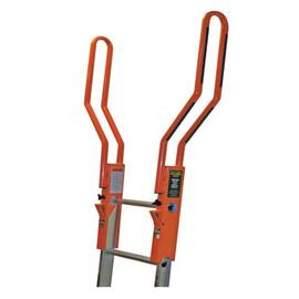 Guardian Fall Protection 10800 Safe-T™ Ladder Rail Extension, 1-3/4 In W X 3-3/4 In D Maximum Ladder Side Rails