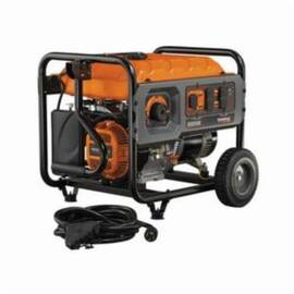 Generac® 6672 RS5500 Portable Generator With Cord, 120/240 VAC, 45.8 A, 6875 W Starting/5500 W Running, OHV Engine, 3600 RPM