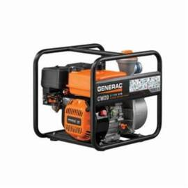 Generac® Clean Water Pump, 158 gpm, 2 in NPT Inlet, 2 in NPT Outlet, 108 ft Maximum Head, 26 ft Maximum Suction Lift, Aluminum, 19 in L x 15.2 in W x 17 in H, Import