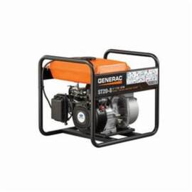 Generac® Semi-Trash Water Pump, 158 gpm, 2 in NPT Inlet, 2 in NPT Outlet, 108 ft Maximum Head, 26 ft Maximum Suction Lift, Wheel Mount, Aluminum, 23.1 in L x 18.1 in W x 19.8 in H, Import