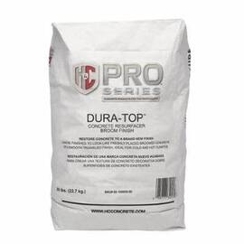 H&C® DURA-TOP™ 60.100609-50 1-COMPONENT CONCRETE RESURFACER, 5 GAL PAIL, 180 TO 200 SQ-FT/50 LB, >199.9 DEG F FLASH
