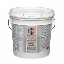 H&C® 60.100709-99 CONCRETEREADY™ CEMENT BASED PATCHING COMPOUND, 5 LB BUCKET, 0.045 CU-FT, CLEAR, 199 DEG F FLASH