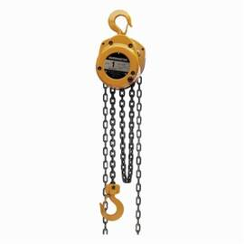 Harrington Cf010-15 Cf Series Portable Hand Chain Hoist, 1 Ton Load, 15 Ft H Lifting, 14.6 In Min Between Hooks, 1.1 In Hook Opening, 72 Lb Rated