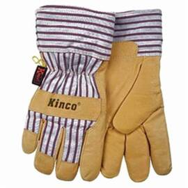 Heatkeep® 1927 Leather Palm Glove, Heat Keep Thermal, Polyester Fiber, Heat Resistant, Palomino