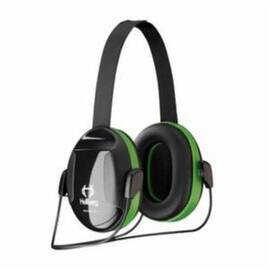 HELLBERG® 263-43001 SECURE™ 1 PASSIVE EARMUFFS WITH NECKBAND, 23 DB NOISE REDUCTION, BLACK/GREEN, SPECIFICATIONS MET: ANSI S3.19-1974, CE CERTIFIED