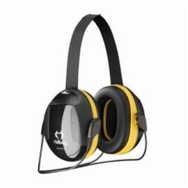 HELLBERG® 263-43002 SECURE™ 2 PASSIVE EARMUFFS WITH NECKBAND, 25 DB NOISE REDUCTION, BLACK/YELLOW, SPECIFICATIONS MET: ANSI S3.19-1974, CE CERTIFIED