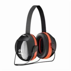 HELLBERG® 263-43003 SECURE™ 3 PASSIVE EARMUFFS WITH NECKBAND, 27 DB NOISE REDUCTION, BLACK/ORANGE, SPECIFICATIONS MET: ANSI S3.19-1974, CE CERTIFIED