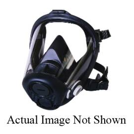 Honeywell Safety Ru65001L Ru6500 Full Facepiece Respirator With 5-Point Headstrap, L, 5-Point/Mesh Headstrap