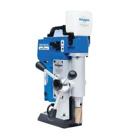 Hougen® Magnetic Drill, Portable, Series: HMD505, 7/16 to 2-3/8 in Chuck, 250/450 rpm Spindle Speed, 8 in L x 4 in W Drill to Center From Base, 20 in Overall Height, 115 VAC, 15 A, 10-3/4 in L x 4-3/4 in W