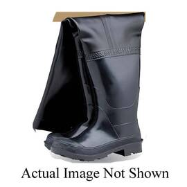 HYGRADE SB-HIP 12 HIP BOOT, STEEL TOE, SZ 12, 30 IN L INSEAM, CUSHION/MULTI-RIBBED/HEAVY CLEATED SOLE, RUBBER UPPER, RUBBER MIDSOLE, RUBBER OUTSOLE