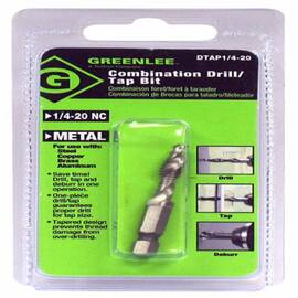 Greenlee® Dtap1/4-20 Split Point Tap Drill Bit