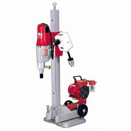 Milwaukee® 4115-22 Vac-U-Rig® Diamond Coring Rig, 4.8 Hp, 120 Vac, 20 A, Bare Tool