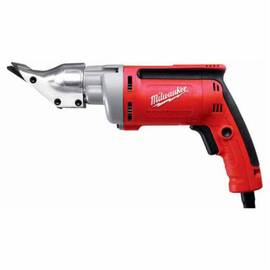 Milwaukee® 6852-20 Corded Double Insulated Electric Shear, 20 Ga Stainless Steel, 18 Ga Steel Cutting, 2500 SPM, 120 Vac, 12-1/4 In OAL, Bare Tool