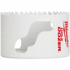Milwaukee® Ice Hardened™ 49-56-0167 Dozer™ Hole Saw, 2-7/8 In Dia, 1-5/8 In D Cutting, Bi-Metal/Cobalt Cutting Edge, 43228 Arbor