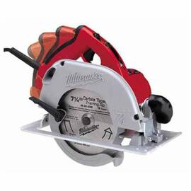 Milwaukee® 6390-21 Tilt-Lok™ Corded Circular Saw Kit, 7-1/4 In Dia Blade, 5/8 In Arbor/Shank, 1-13/16 In At 45 Deg, 1-11/16 In At 50 Deg, 2-7/16 In At 90 Deg Cutting, Right Blade Side