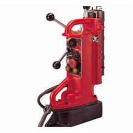 Milwaukee® 4203 Adjustable Position Portable, 1 In Chuck, 11 In D Drilling, For Use With 1/2 In And Thicker Flat Ferrous Material, Steel