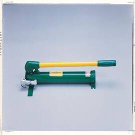 Greenlee® 755 High Pressure Hydraulic Hand Pump, 0.161 Cu-In/Stroke Pump Capacity
