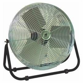 TPI F18Te Workstation Floor Fan, 18 In Blade, 3200/4200/4600 CFM, 120 Vac, 1.5 A