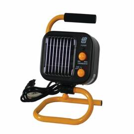 TPI 178Tmc 1-Phase Fan Forced Standard Portable Electric Heater, 5120 Btu, 120 Vac, 12.5/7.1 A, 1500/950 W