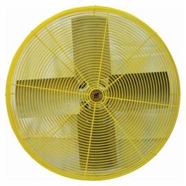TPI Hdh24 Heavy Duty Standard Air Circulator Fan Head, 24 In Blade, 5600 CFM High, 4900 CFM Low, 120 Vac, 3.5 A