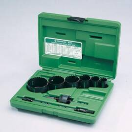 Greenlee® 830 Quick Change Hole Saw Kit, For Use With 1/2 To 2 In Conduit, Bi-Metal