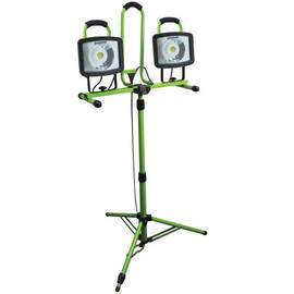 Southwire® L1682Sw Portable Tripod Work Light, Par Lamp, 46 W, 120 Vac, Floor Stand Base, 2 Heads