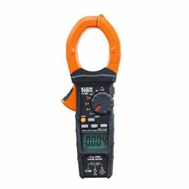 Klein® Cl900 Digital Clamp Meter, 1000 Vac/Vdc, 2000 A, 6000 Uf, 60 Mohm, 500 Khz, 2 In Jaw, Lcd Display