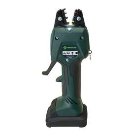Greenlee® Micro Crimping Tool Kit, Cordless, Kit, Series: EK50ML, 10.8 V, Li-Ion Battery, Overmolded Tacky Grip