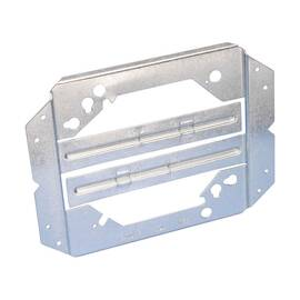 CADDY® MEB1 FAR SIDE BOX MOUNTING BRACKET, PANEL MOUNT, STEEL, PRE-GALVANIZED