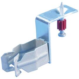 Caddy® Conduit Clamp, Push In, 1/2 in EMT Conduit, Steel/Spring Steel, Electro-Galvanized/Caddy® Armour, 0.709 to 0.866 in OD x 2-15/16 in W x 1-11/16 in H
