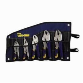 Irwin® Vise-Grip® Fast Release™ 538Kbt Plier Set, 5 Pieces, Alloy Steel