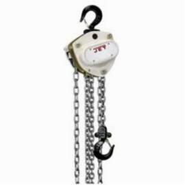 Jet® 102230 L-100-200-30 Hand Chain Hoist | 2 Ton Load Capacity | 30 Ft. Lifting Height | 79 Lb. LBF Pull to Lift | Dual Pawl Weston Brake