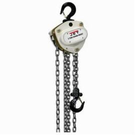 Jet® 102210 L-100-200-10 Hand Chain Hoist | 2 Ton Load Capacity | 10 Ft. Lifting Height | 79 Lb. LBF Pull to Lift | Dual Pawl Weston Brake