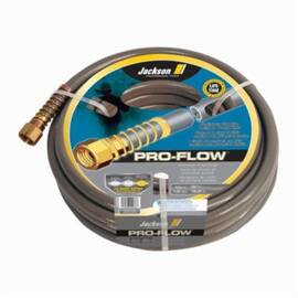 Jackson® 4003600 Pro-Flow Heavy Duty Professional Hose, 50 Ft L, 450 Psi, Brass/Pvc