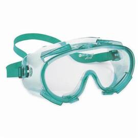 Jackson Safety* 14387 V80 Monogoggle* 211 Indirect Vent Standard Safety Goggles, Universal, Anti-Fog/Anti-Scratch Clear Lens, 2-Piece Green Frame