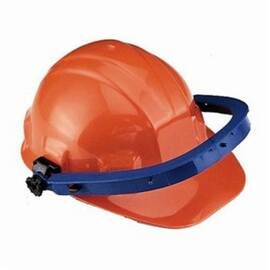 Jackson Safety* 14506 A-5500X Cap Adapter, Blade Mount, For Use With Sc-6 Hard Hat, Sentry III* Hard Hat, Charger* Hard Hat And Slotted Hat, Nylon, Orange