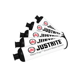 JUSTRITE® 12850 CARBON FILTER, FOR USE WITH VAPORTRAP™ SOLVENT WASTE SYSTEMS, CHARCOAL ACTIVATED CARBON, WHITE