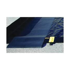 JUSTRITE® 28342 TRACK MAT, 10 FT L X 3 FT W, PVC COATED WOVEN FABRIC