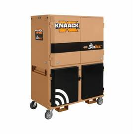 Knaack® 118-01 Datavault™ Mobile Digital Plan Station, 55 In L X 30 In W X 75 In H, Tan
