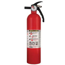 KIDDE® 466142MTL CHEMICAL DRY MULTI-PURPOSE FIRE EXTINGUISHER, DISPOSABLE EXTINGUISHER, CLASS: A/B/C, UL RATING: 1A:10B:C, EXTINGUISHING AGENT: MONOAMMONIUM PHOSPHATE