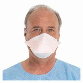 KIMBERLY CLARK* FLUIDSHEILD* 46827 SO SOFT* POUCH STYLE SURGICAL MASK, S, N95 FILTER RATING, RESISTS: FLUID